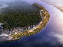 嘉陵江·龙女湖畔